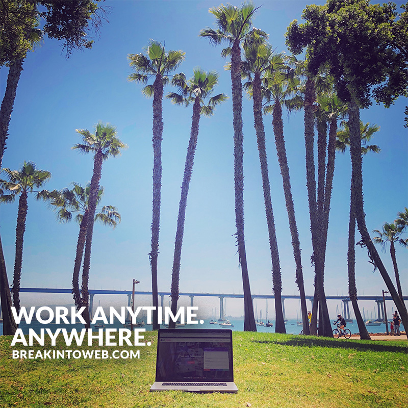 Work anytime, anywhere.